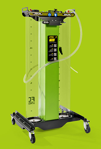 La station Flash Cooling® FC1515 - contrôles vue haut
