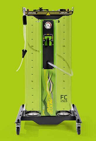 La station Flash Cooling® FC1515 - vue de face
